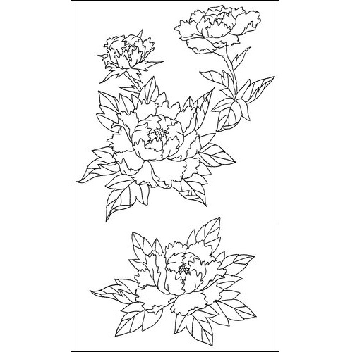 эскизы рисунков цветы:
